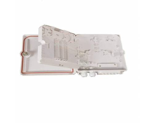 12 port wallmount abs optical fiber termination box or 12f wall-mount indoor outdoor ofc liu box IP65 complied