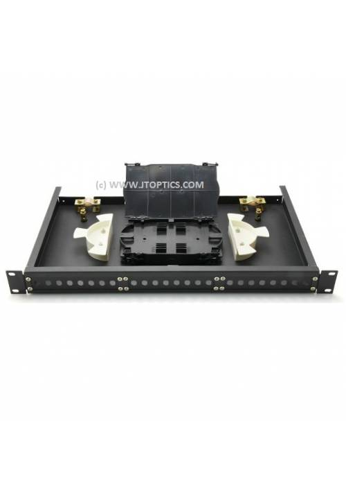 24 PORT LIU RACK MOUNTABLE SLIDING TYPE BLANK