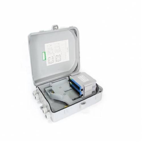 Fttx fiber Termination Box for 2 x lgx optical splitter abs type blank