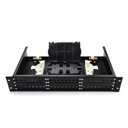 Rack mountable LIU termination Box 48 port unloaded sliding type