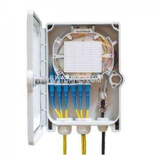 INDOOR FIBER TERMINATION BOX 6 PORT