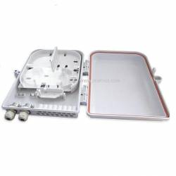 8 port wallmount abs optical fiber termination box or 8f wall-mount indoor ofc liu IP65 complied