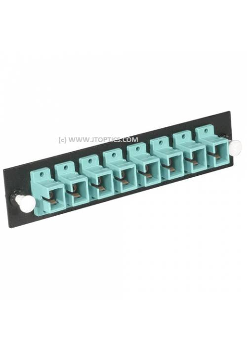8 PORTS LIU FACE PLATE SC UPC SINGLE MODE