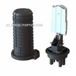 24 fiber dome splice closure or 24f vertical ofc enclosure for outdoor optical fiber cable