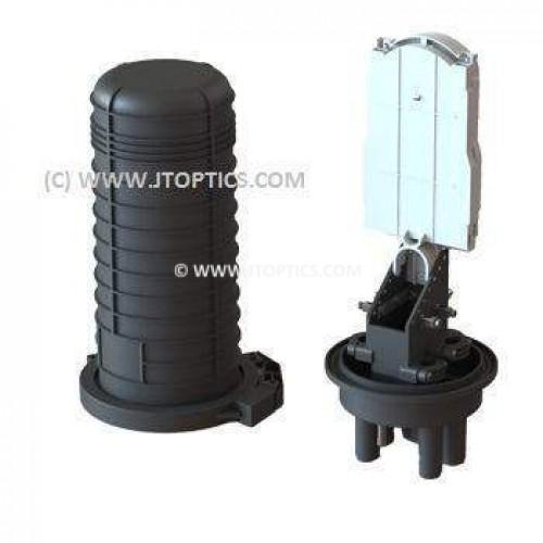 12 fiber dome splice closure or 12f vertical ofc enclosure for outdoor optical fiber cable