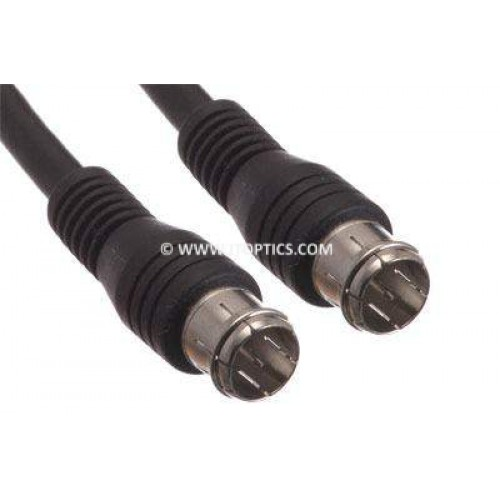 Rg59 push-on f-type video cable
