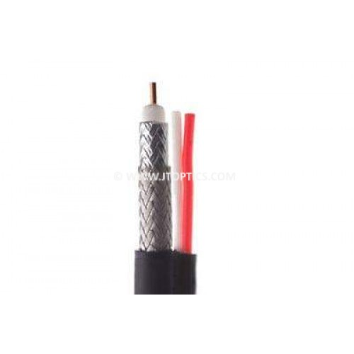 Rg59 shield coax cable with 18/2 power bulk cable