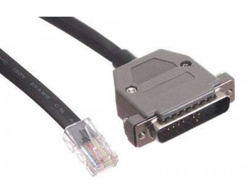 Db25 male to rj45 patch cord cable
