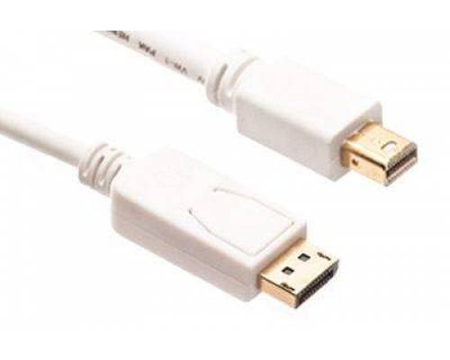 Mini displayport to displayport patch cord cable