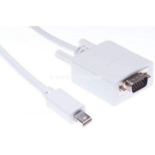 Mini displayport to vga patch cord cable
