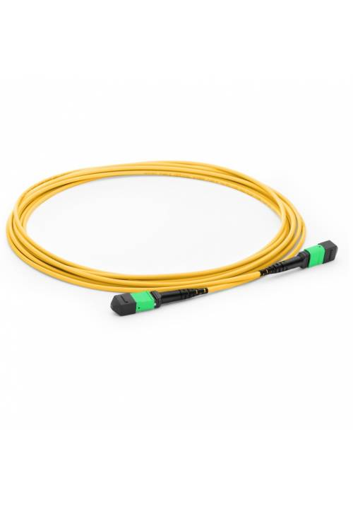 12 FIBER MPO TO MPO SINGLE MODE TRUNK CABLE