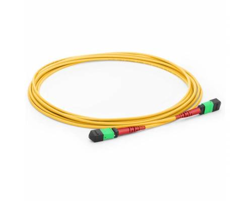 24 fiber mpo mpo single mode trunk cable or 24f mpo sm patch cord for 100g cxp lr10 transceiver
