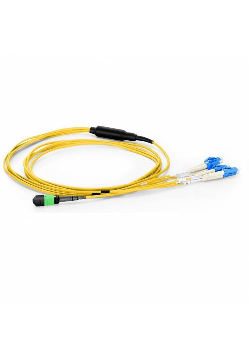 8F MPO LC HARNESS CABLE FOR SINGLE MODE QSFP TO SFP MODULE