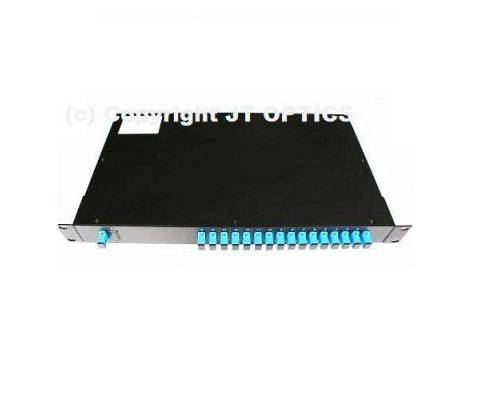 1:16 optical fiber splitter plc 1260nm – 1650nm rack mountable