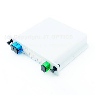 1:2 PLC OPTICAL SPLITTER PLC LGX BOX TYPE