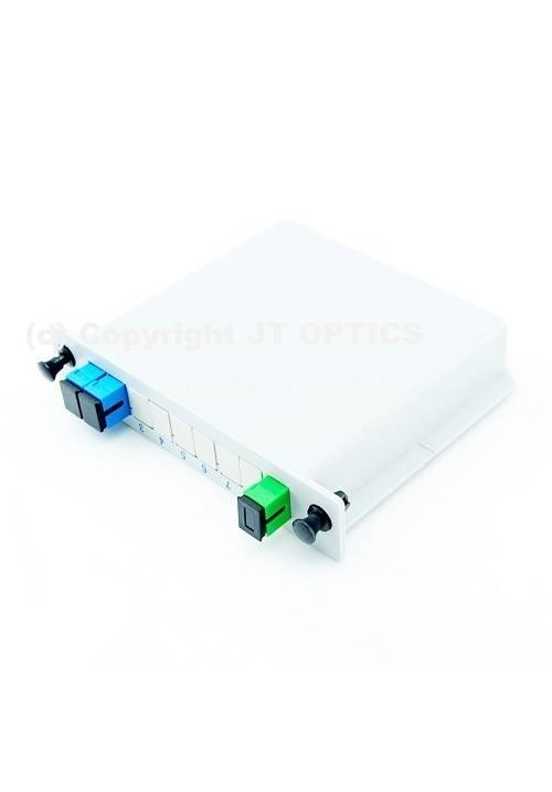 1:2 PLC OPTICAL SPLITTER PLC LGX BOX TYPE