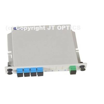 1:4 PLC OPTICAL SPLITTER PLC LGX BOX TYPE