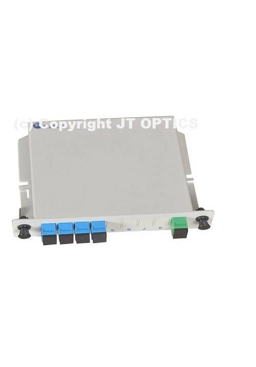 1:4 PLC OPTICAL SPLITTER PLC LGX BOX TYPE