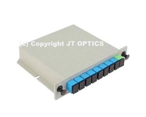 1:8 plc optical fibersplitter plc 1260nm – 1650nm lgx box type