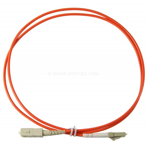 SC LC multimode simplex standard optical patch cord