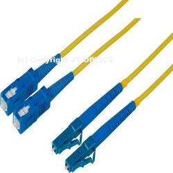 SC LC single mode duplex standard optical patch cord