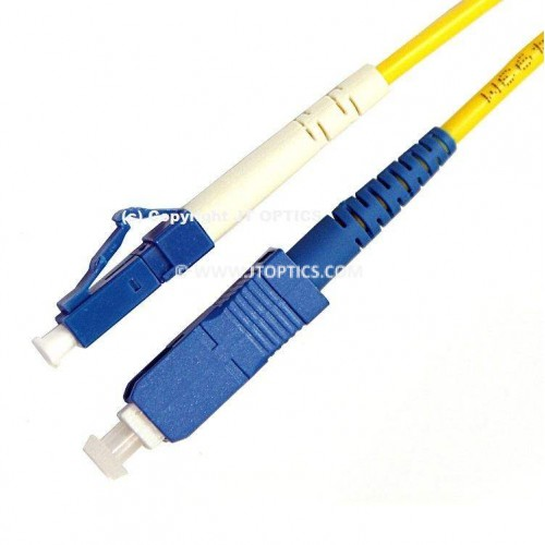 SC LC single mode simplex standard optical patch cord