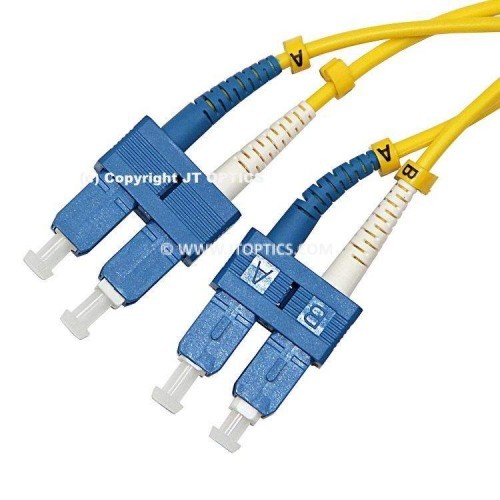 SC SC single mode duplex standard optical patch cord