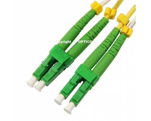 Lc lc apc single mode 2mm duplex standard optical patch cord