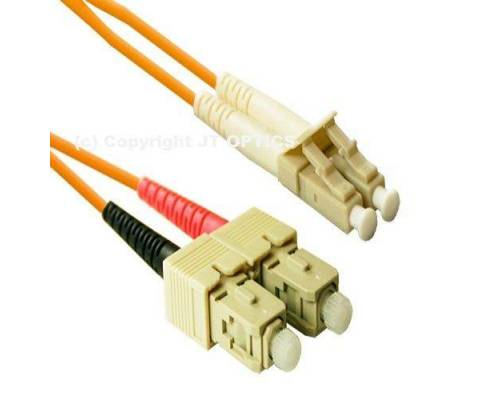Sc lc multimode duplex 2mm standard optical patch cord