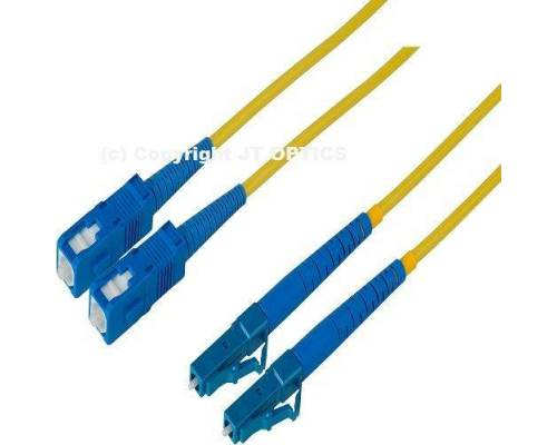 Sc lc single mode 2mm duplex standard optical patch cord