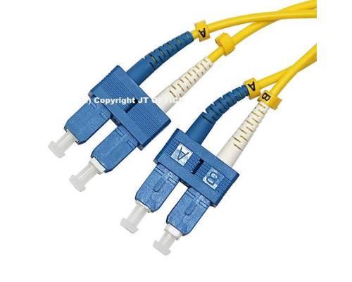 Sc sc single mode 2mm duplex standard optical patch cord