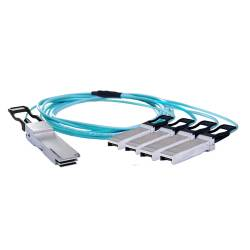 100g qsfp28 to sfp28 om3 multimode aoc cable (active optical cable )