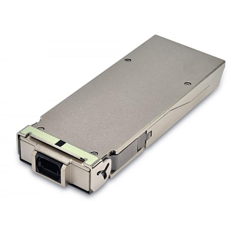 100gbase-sr10 cfp transceiver module mmf, vcsel array 850nm, 150m, mtp/mpo, dom
