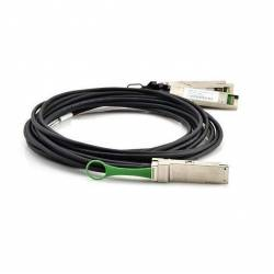Qsfp to 4 xfp breakout dac cable 30 awg qsfp+ to xfp twinax direct attached cable cisco compatible