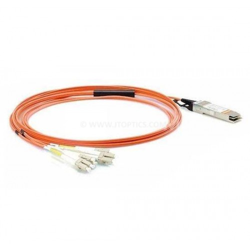 40g qsfp to lc breakout aoc multimode cable cisco qsfp-8lc-aoc compatible active optical patch cord