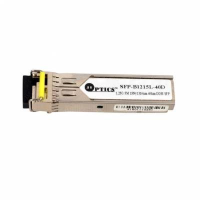1.25G SFP TRANSCEIVER BIDI SINGLE MODE 40KM
