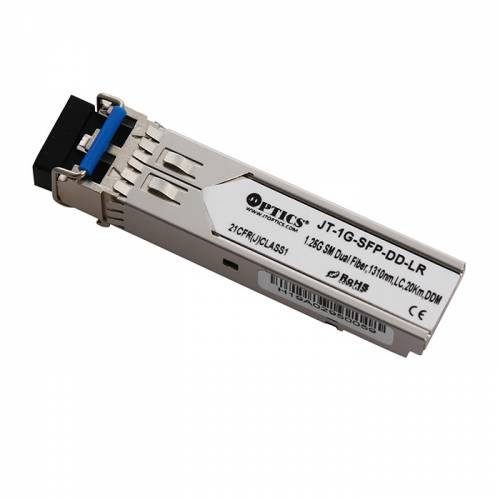 1000BASE-LX/LH 1.25G Sfp Sm Dual Fiber Optical Transceivers, Sm 1310Nm, Lc Dx, 20Km, Dom JT-1G-SFP-DD-LR Transceivers