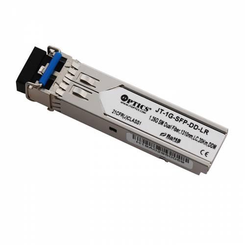 1.25g sfp sm dual fiber transceivers, 1310nm, lc, 20km, ddm