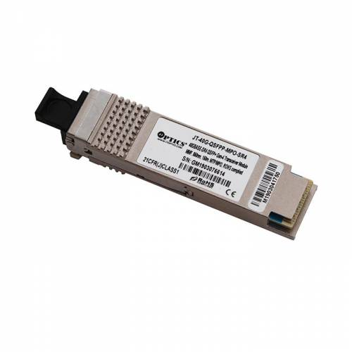40Gbase-Sr4 Qsfp+ Multimode Transceiver Module Mmf, 850Nm, 150M, Mtp/Mpo, Dom JT-40G-QSFPP-MPO-SR4 Transceivers