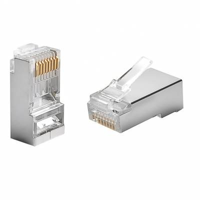 8P8C CONNECTOR FOR RJ45 STP CAT5