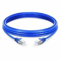 CAT6 RJ45 STP PATCH CORD BLUE COLOR