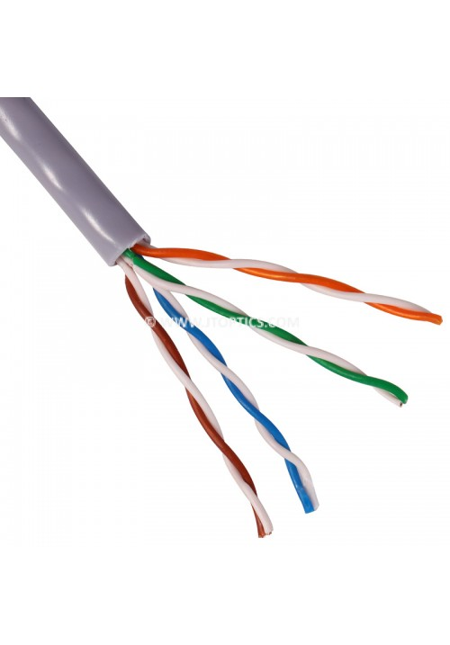 CAT5E 4 PAIR UTP 24AWG PVC BULK CABLE