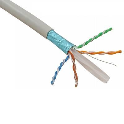 CAT6 4 PAIR STP 23AWG PVC BULK CABLE