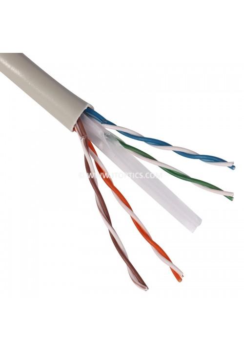 CAT6 4 PAIR UTP 23AWG PVC BULK CABLE