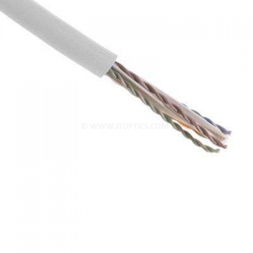 Cat6 4 pair twisted wire utp 23awg pure copper unshielded lszh bulk cable 305 meter