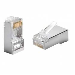 Cat5 stp rj45 connector or 8p8c cat5e connector