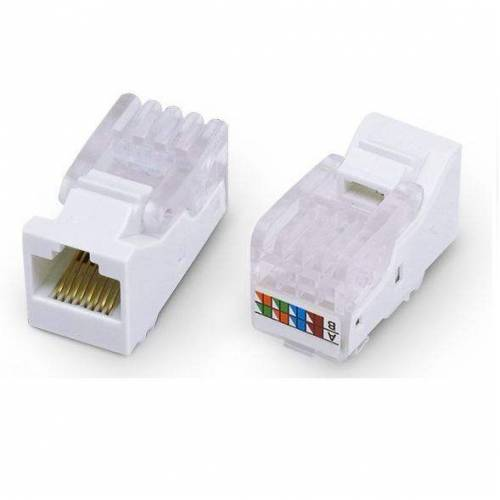 Cat5 utp keystone jack network port