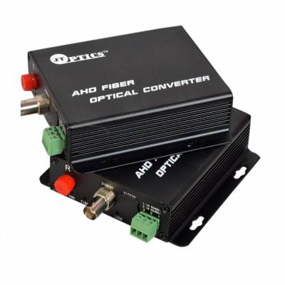 1 CHANNEL ANALOG HD VIDEO OVER SINGLE MODE FIBER WITH RETURN RS485 DATA UPTO 20KM