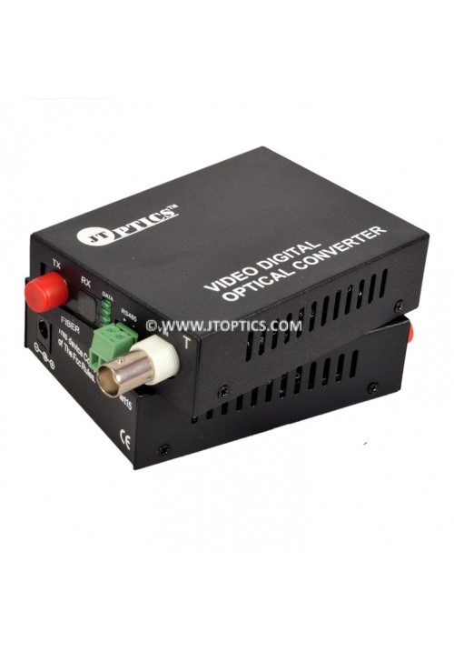 1 ANALOG VIDEO AND RS485 RETURN DATA TO SM OFC CONVERTER UPTO 20KM