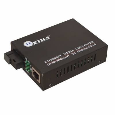 ETHERNET MEDIA CONVERTER 1000MBPS OVER SM SINGLE FIBER UPTO 20KM - PAIR